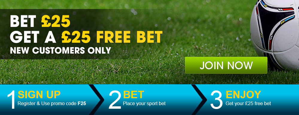 william hill 25 free bet