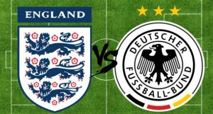 When will England play against Germany?