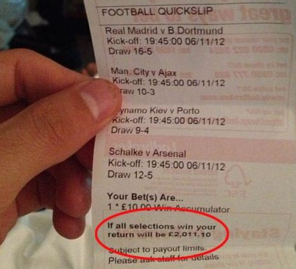 Are a multiple wager and and an accumulator the same thing?
