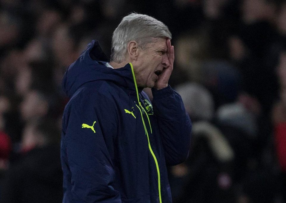 Why didnt Arsene Wenger accept the blame?