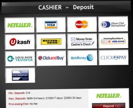 Banking methods to bet via your Bet stars account!