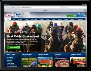 can you bet on a horse race with betfred