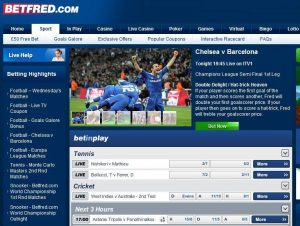 find various sports markets at betfred review