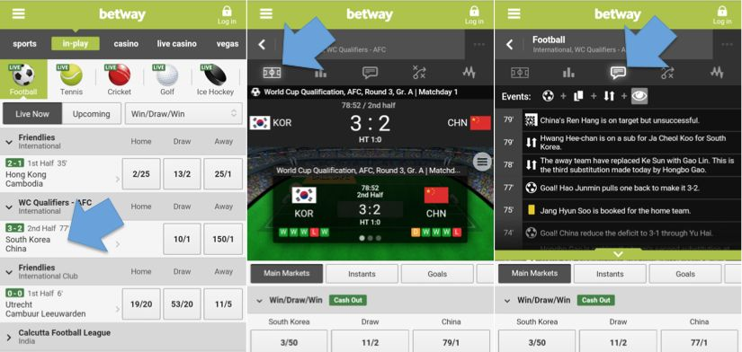 Devices that the Betway Mobile App can run on!