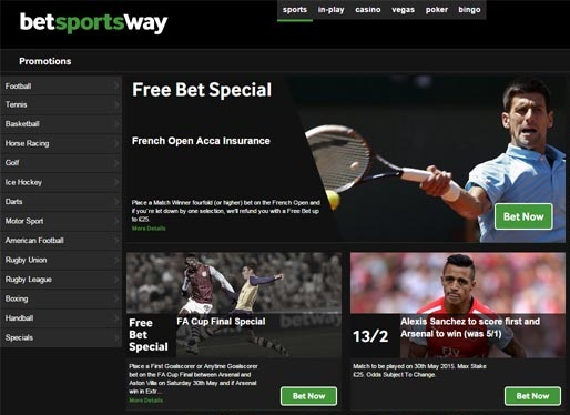 What can you find at the Betway sports betting site?