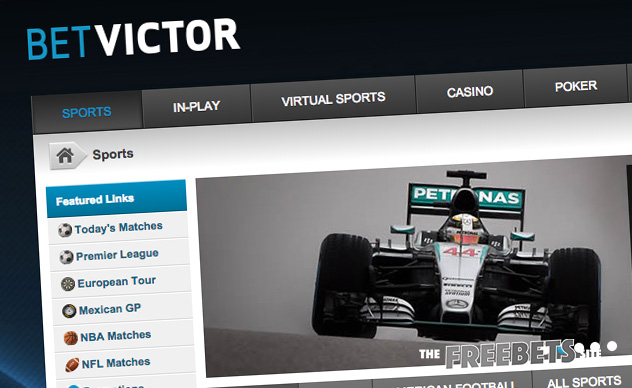 is live sports betting possible at betvictor