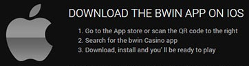 Get the iOS app of Bwin on your mobile!