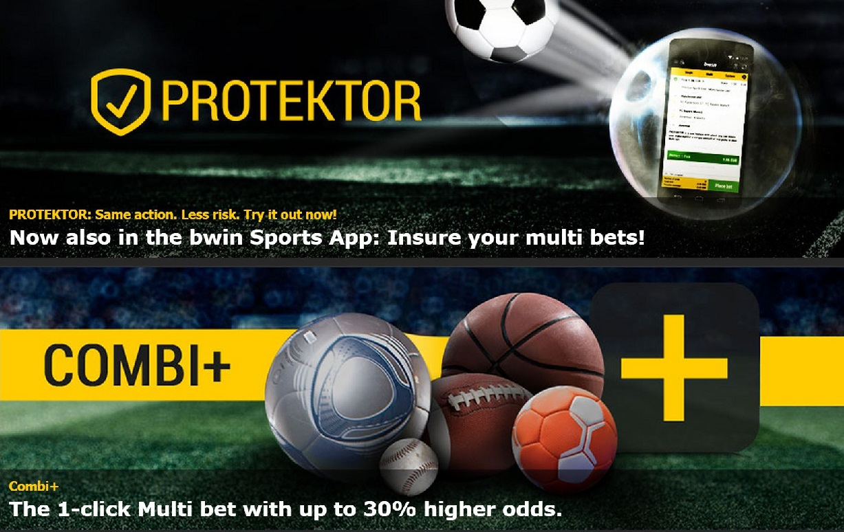check the sports offers at the help section on bwin