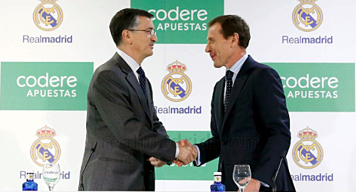Codere And Real Madrid Signed A 3 Year Betting Partnership
