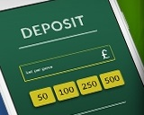 Use the Come on Banking options to deposit cash!