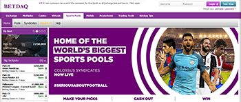 How good is the website design of the Betdaq bookie?