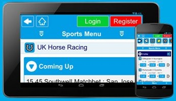 Which mobile devices work with the Sportingbet App?