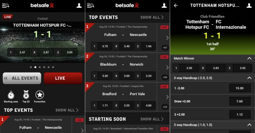 What makes the Betsafe app for Android so good?
