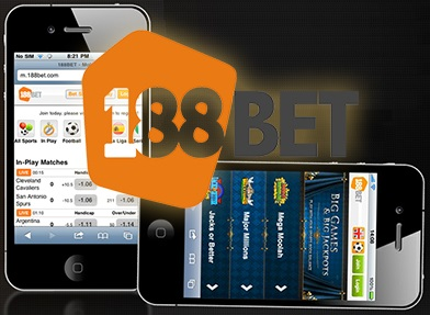 Access 188bet through your mobile phone!