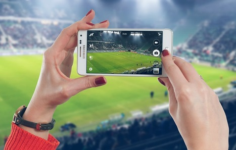Using In-Play  website or app to bet live