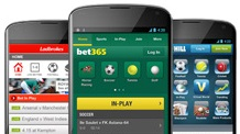 How many applications for betting on the go can you install?