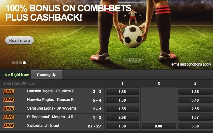Can Bet safe punters bet on live football matches?