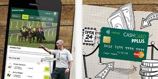 Withdrawals and Deposits at Paddy Power regarding the mobile app's ability!