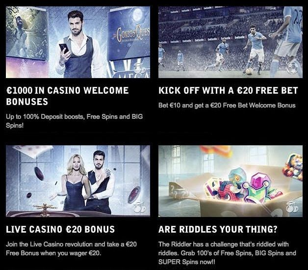 What promotions and bonuses does betsafe offer?