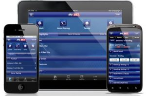 which are the options of the skybet apps
