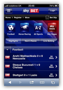 find answers to questions about skybet mobile