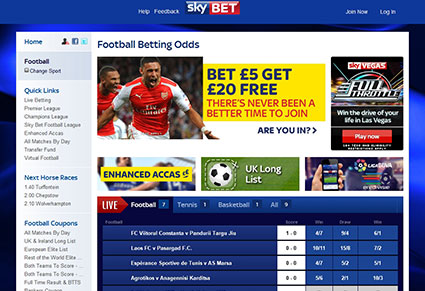 find many promotions and bonus offers at skybet review