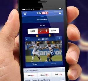 which are the sports markets at skybet mobile