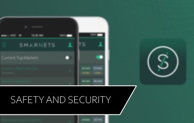 Learn more about Smarkets safety and security.