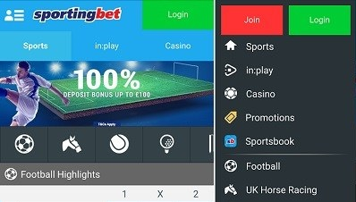 How to use the Sportingbet Mobile platform?