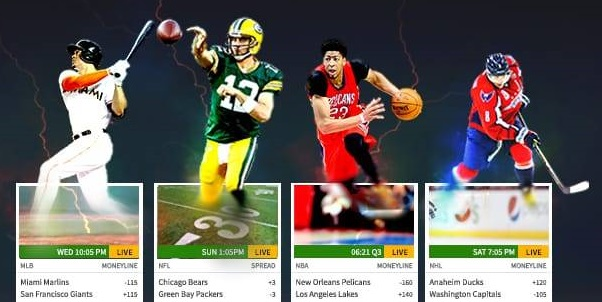 Which are the top sports betting markets of Bovadda?
