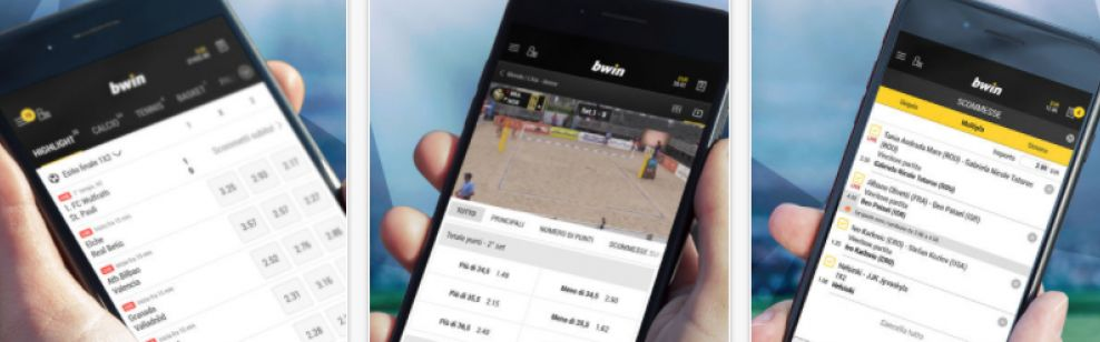 On which iOS devices to install the Bwin app?