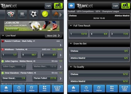 What to do after you install the Titanbet app for Android?