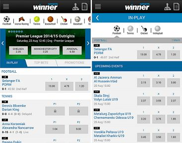 Is the Winner mobile platform good for betting on the go?